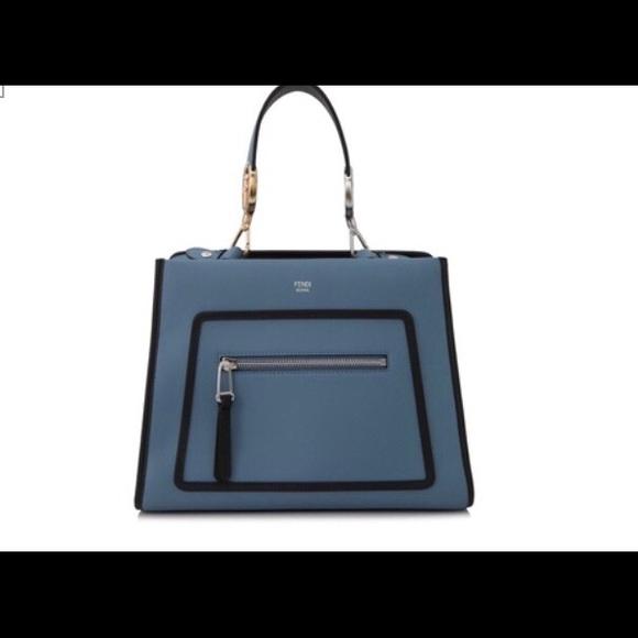 Fendi Handbags - FENDI Runaway large leather bag